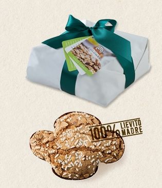 Classic Colomba without candied fruit